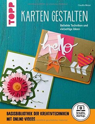 Das Buch - Karten gestalten, beliebte Techniken und vielseitige Ideen - bestellen