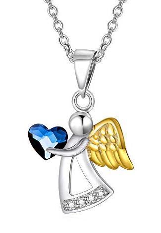 Die Taufkette mit Schutzengel aus Sterling-Silber 925 bestellen