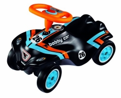 BIG 56185 - Bobby-Car Racing No3, schwarz