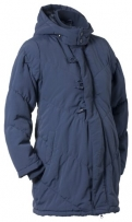 Noppies Damen Umstandsmode Jacken/ Mantel 10626, Gr. 34 (XS), Blau (30 navy)