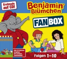10 CD Fan Box - Folgen 1-10