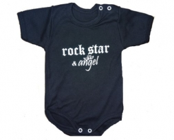 "Babybody ""ROCK STAR & ANGEL"" - black & white- Limited Edition (50/56, schwarz)"