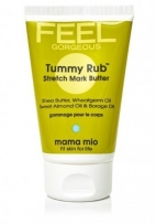 Mama Mio Tummy Rub Stretch Mark Butter, 4 oz, say NO to stretch marks! by Mama Mio [Beauty] (English Manual)