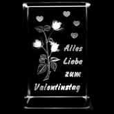 Den Valentin 3D Laser Kristall Glasblock bestellen