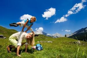 Freizeit für Eltern und Baby