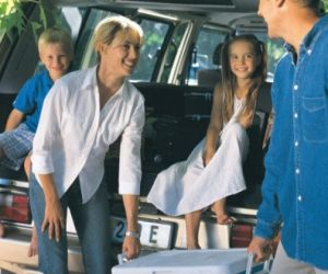 Der Mietwagen muss ausreichend Stauraum für Gepäck bieten.