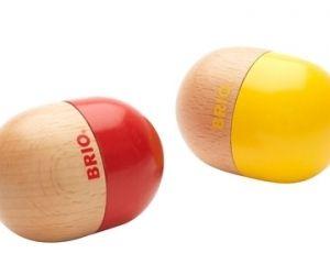 Die 2-teilige Set Rasseleier von BRIO bestellen