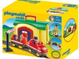 Playmobil 1.2.3 Bahnhof - Wunschfee