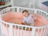 Das mitwachsende Babybett