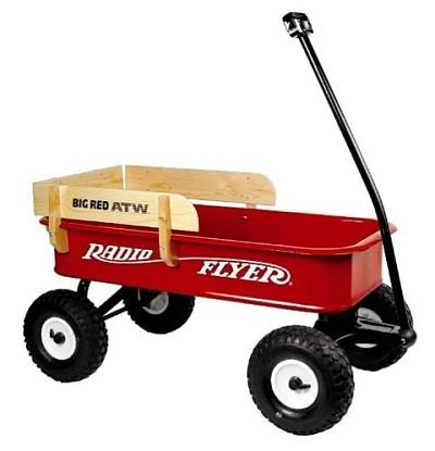 Den Bollerwagen mit Luftbereifung von Radio Flyer bestellen