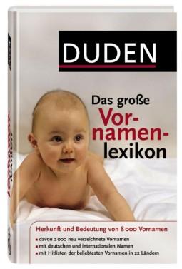 Das große Vornamenlexikon von DUDEN kaufen