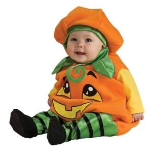 Kürbis-Kostüm für das Baby kaufen