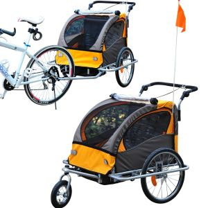 Der HOCOM Fahrrad-Anhänger und Jogger