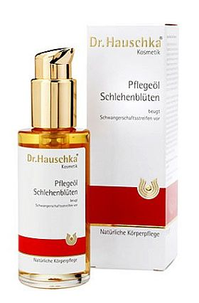 Dr. Hauschka - Pflegeöl Schlehenblüten - beugt Schwangerschaftsstreifen vor - kaufen