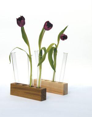 Das Vasen-Trio mit Holzkorpus von Fairwerk kaufen
