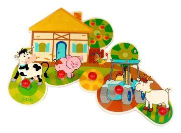 Die Kinderzimmer-Garderobe BAUERNHOF von Hess kaufen