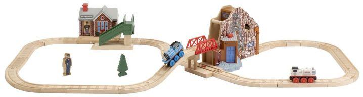 Das Holzeisenbahn-Entdeckungs-Set