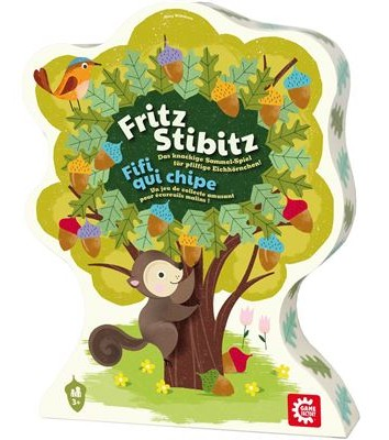 Das Eichhörnchenspiel - Fritz Stibitz - kaufen