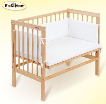 Das Beistellbettchen FabiMax mit Matratze und Nestchen kaufen