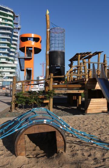 Der schönste Spielplatz in Hamburg