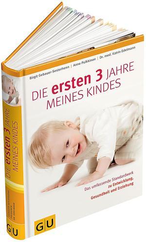Das Buch - Die ersten drei Jahre meines Kindes - aus dem GU-Verlag kaufen