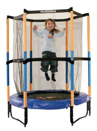 Das Sicherheits-Trampolin für Kleinkinder von Hudora kaufen
