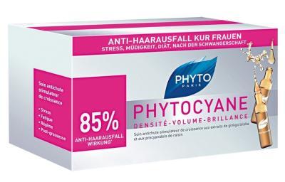 PHYTO PHYTOCYANE Ampullen gegen Haarausfall FRAUEN 12x7,5ml bestellen