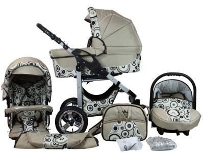 Das Bergsteiger Capri Kombikinderwagen-System bestellen