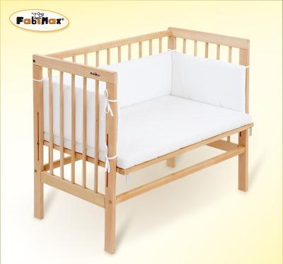 Das FabiMax 2387 Beistellbett Basic inklusiv Matratze Comfort und Nest Amelie bestellen