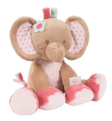 Den liebenswerten rosa Plüsch-Elefant als Spieluhr von Nattou bestellen