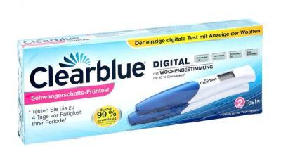 Schwangerschaftstester Clearblue Digital mit Wochenbestimmung (2 Stk.) bestellen