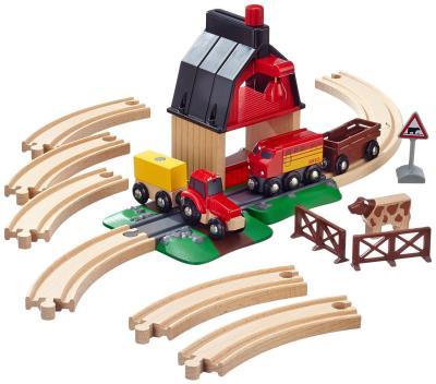 Das Holzeisenbahn-Bauernhof-Set von Brio bestellen