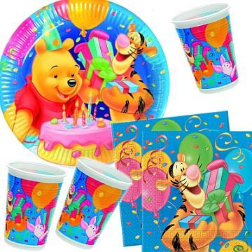 Das Kindergeburtstags-Partyset Winnie Puuh bestellen