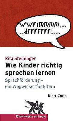 Die Broschüre - Wie Kinder richtig Sprechen lernen - bestellen