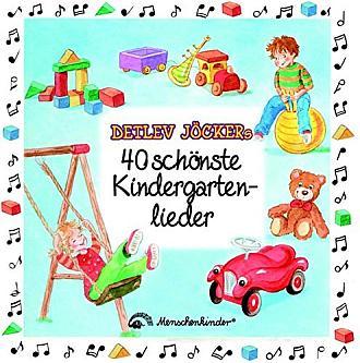 Die Doppel-CD - Detlev Jökers 40 schönsten Kindergartenlieder - bestellen