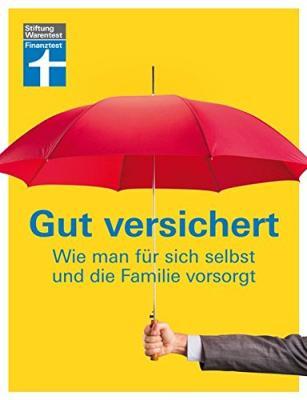 Den Ratgeber - Gut versichert - von Stiftung Warentest bestellen