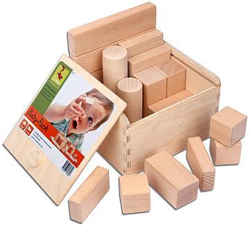 Die unbehandelten Baby-Bausteine CreaBLOCKS bestellen