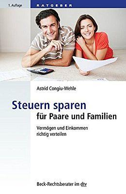 Das Buch - Steuern sparen für Paare und Familien - bestellen