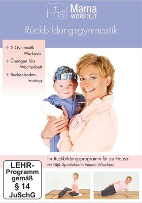 Die DVD - MamaWorkout-Rückbildungsgymnastik - bestellen