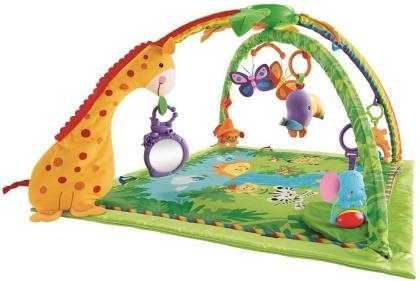 Die Krabbel- und Erlebnisdecke Rainforest von Mattel bestellen