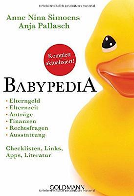 Das Buch - Babypedia, Checklisten und viel mehr - bestellen