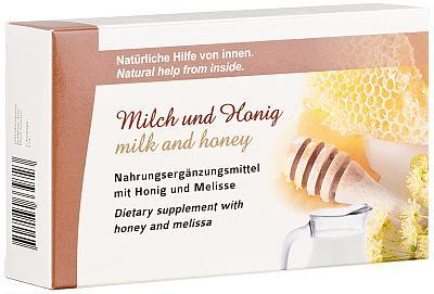 Milch- und Honig-Kapseln zur Beruhigung bestellen