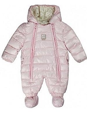 Den Baby - Mädchen Schneeanzug mit Kapuze von Kanz bestellen