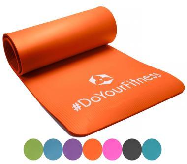Die Yoga- und Fitnessmatte in verschiedenen Farben bestellen