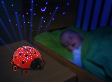 Den Marienkäfer als Sternenlicht-Projektor von Ansmann bestellen