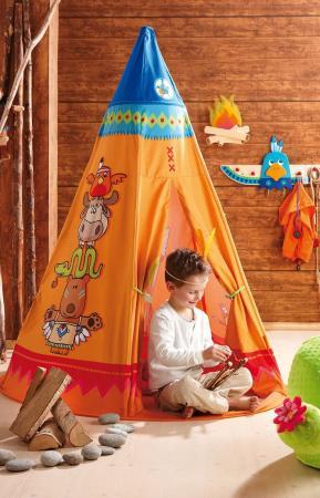 Das Indianer-Zelt - Tipi - von Haba bestellen