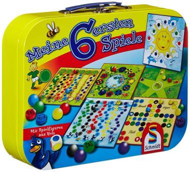 Den Spiele-Koffer - Meine ersten 6 Spiele - von Schmidt bestellen