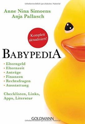 Das Ratgeber- und Checklistenbuch BABYPEDIA bestellen