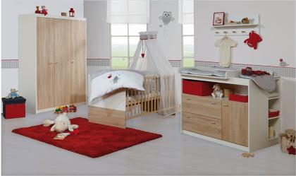 Das komplette Babyzimmer GABRIELLA von ROBA bestellen