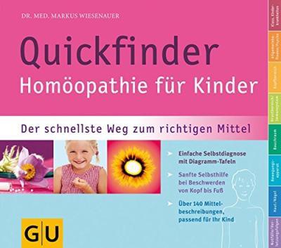Das Buch - Quickfinder - Homöopathie für Kinder bestellen